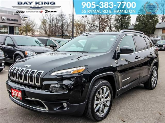 2018 Jeep Cherokee Limited (Stk: 6668) in Hamilton - Image 1 of 23