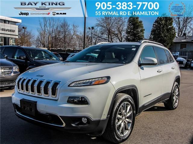 2018 Jeep Cherokee Limited (Stk: 6681) in Hamilton - Image 1 of 23