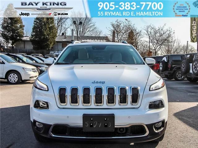 2018 Jeep Cherokee Limited (Stk: 6681) in Hamilton - Image 2 of 23