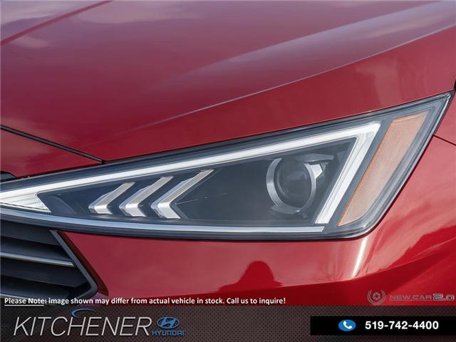 2019 Hyundai Elantra Luxury (Stk: 58707) in Kitchener - Image 10 of 23