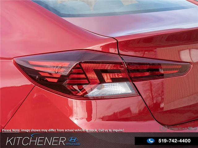 2019 Hyundai Elantra Luxury (Stk: 58707) in Kitchener - Image 11 of 23