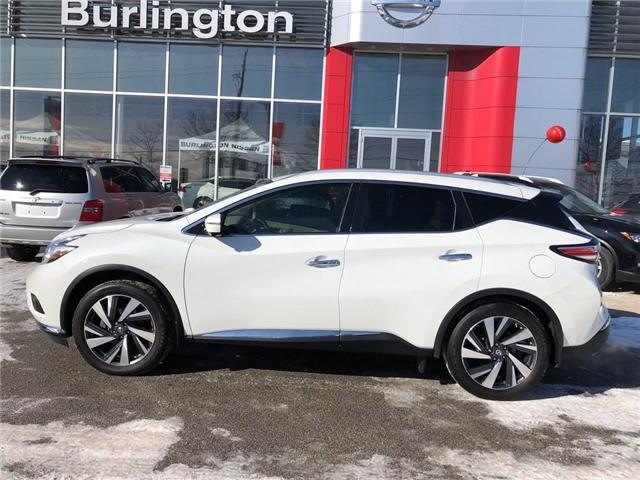 2016 Nissan Murano Platinum (Stk: A6629) in Burlington - Image 2 of 20