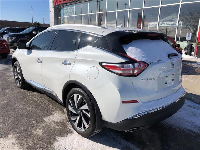 2016 Nissan Murano Platinum (Stk: A6629) in Burlington - Image 3 of 20