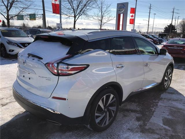 2016 Nissan Murano Platinum (Stk: A6629) in Burlington - Image 5 of 20