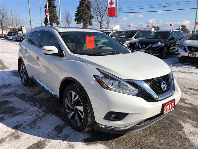 2016 Nissan Murano Platinum (Stk: A6629) in Burlington - Image 7 of 20