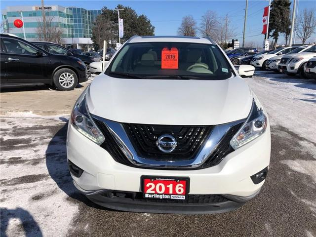 2016 Nissan Murano Platinum (Stk: A6629) in Burlington - Image 8 of 20