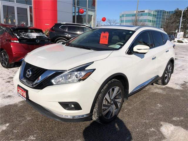 2016 Nissan Murano Platinum (Stk: A6629) in Burlington - Image 9 of 20
