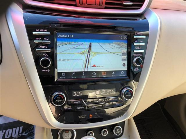 2016 Nissan Murano Platinum (Stk: A6629) in Burlington - Image 17 of 20