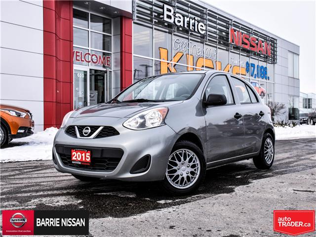 2015 Nissan Micra S (Stk: 19157A) in Barrie - Image 1 of 20