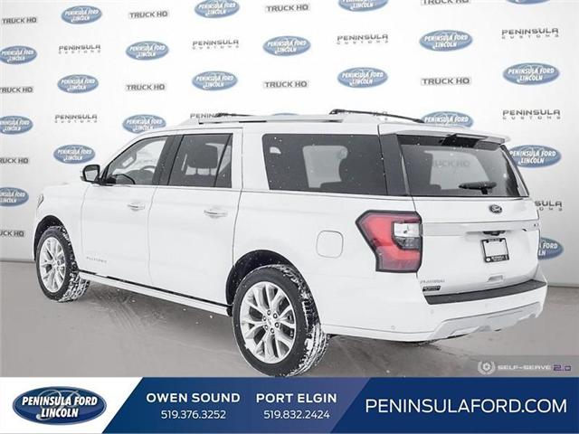 2019 Ford Expedition Max Platinum (Stk: 19EP01) in Owen Sound - Image 4 of 24