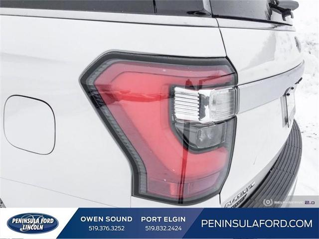2019 Ford Expedition Max Platinum (Stk: 19EP01) in Owen Sound - Image 10 of 24