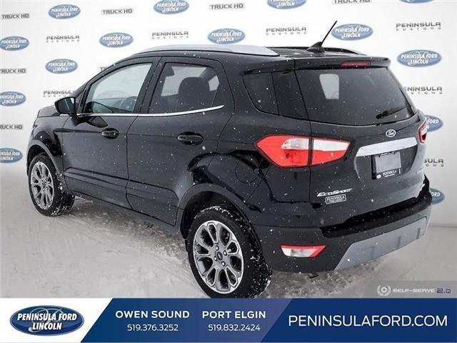 2018 Ford EcoSport Titanium (Stk: 1697) in Owen Sound - Image 4 of 24