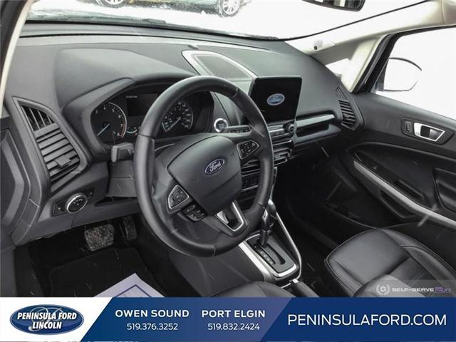 2018 Ford EcoSport Titanium (Stk: 1697) in Owen Sound - Image 12 of 24