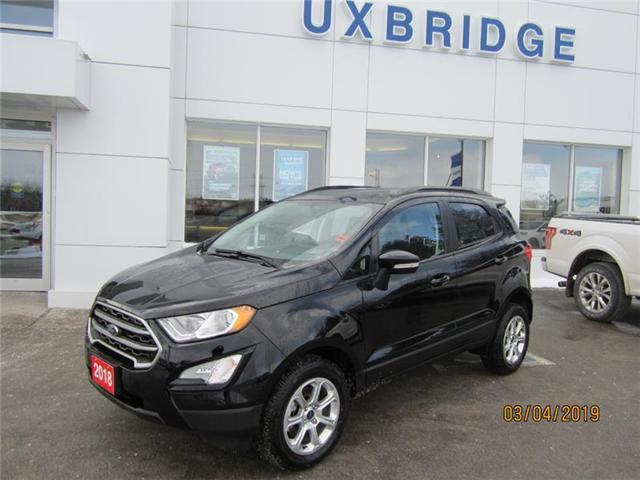 2018 Ford EcoSport SE (Stk: IEC8723) in Uxbridge - Image 1 of 10