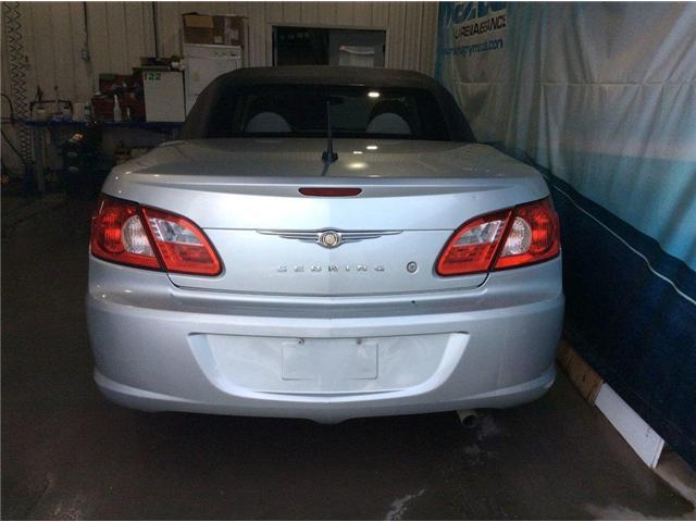 2008 Chrysler Sebring LX (Stk: U522) in Montmagny - Image 5 of 16