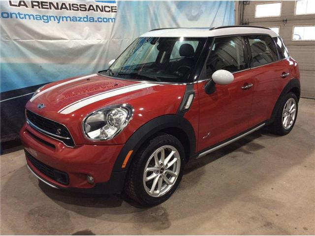 2015 MINI Countryman Cooper S (Stk: U596) in Montmagny - Image 1 of 24