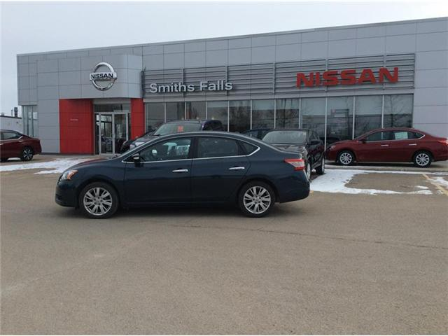 2014 Nissan Sentra 1.8 SL (Stk: 19-051A1) in Smiths Falls - Image 1 of 13