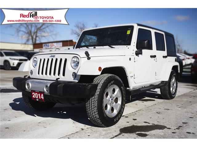 2014 Jeep Wrangler Unlimited Sahara (Stk: 77487) in Hamilton - Image 1 of 15
