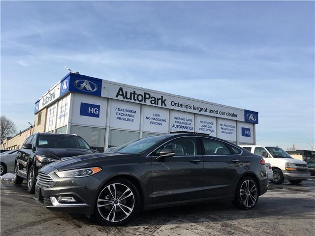 2018 Ford Fusion Titanium (Stk: 18-36443) in Brampton - Image 1 of 26