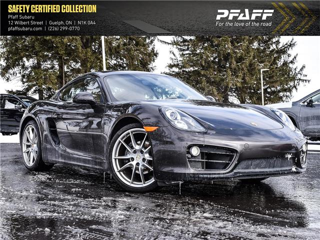 2014 Porsche Cayman Base (Stk: SU0011) in Guelph - Image 1 of 17