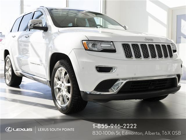 2015 Jeep Grand Cherokee Summit (Stk: L800431B) in Edmonton - Image 1 of 21