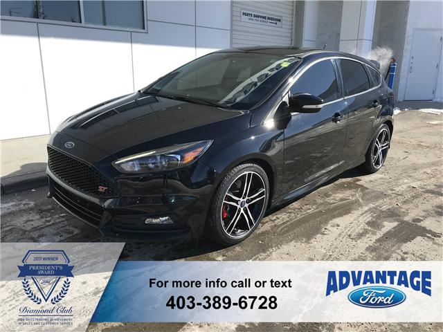 2016 Ford Focus ST Base (Stk: J-2083A) in Calgary - Image 1 of 18