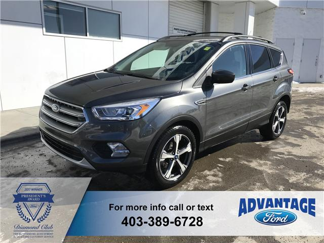 2017 Ford Escape SE (Stk: J-2085A) in Calgary - Image 1 of 18