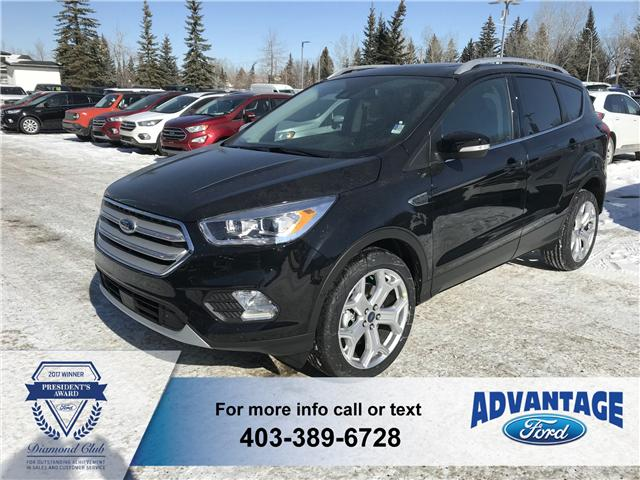2019 Ford Escape Titanium (Stk: K-619) in Calgary - Image 1 of 5