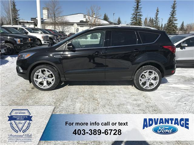 2019 Ford Escape Titanium (Stk: K-619) in Calgary - Image 2 of 5