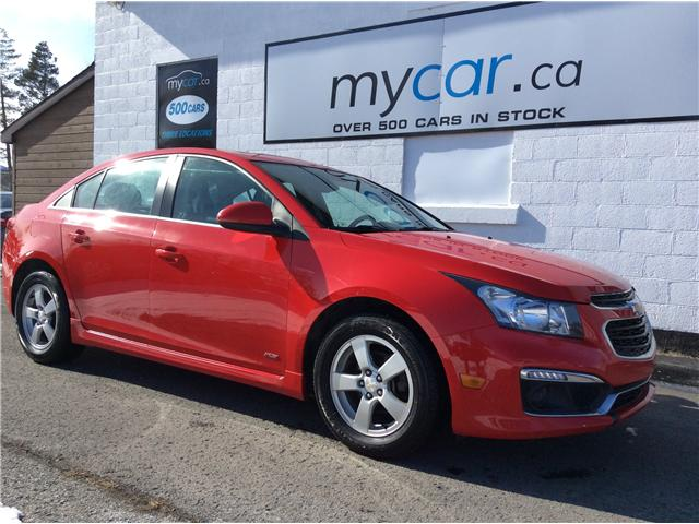2015 Chevrolet Cruze 1LT (Stk: 190146) in Kingston - Image 1 of 21