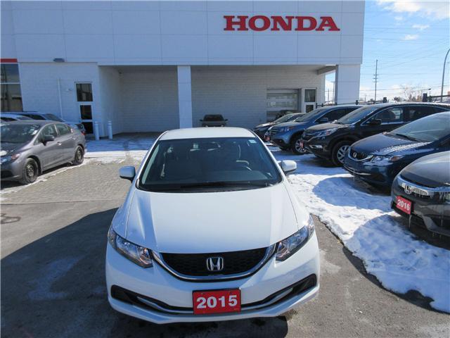 2015 Honda Civic LX (Stk: 26447L) in Ottawa - Image 1 of 8