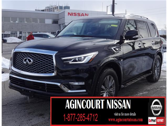 2018 Infiniti QX80 Base 8 Passenger (Stk: U12433) in Scarborough - Image 1 of 29