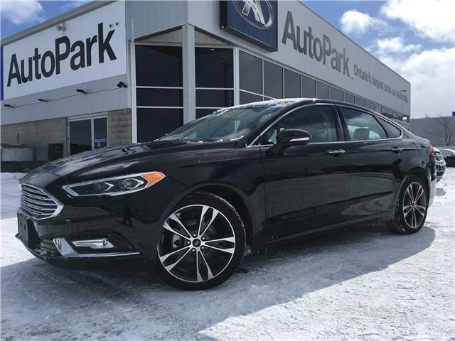 2018 Ford Fusion Titanium (Stk: 18-36463RMB) in Barrie - Image 1 of 27