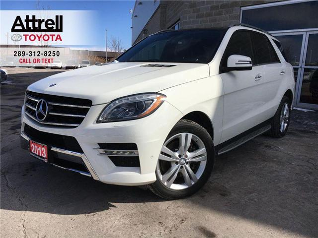 2013 Mercedes-Benz M-Class FAMILY DAY SPECIAL ML 350 BLUETEC NAVI, LEATHER, S (Stk: 41299A) in Brampton - Image 1 of 26