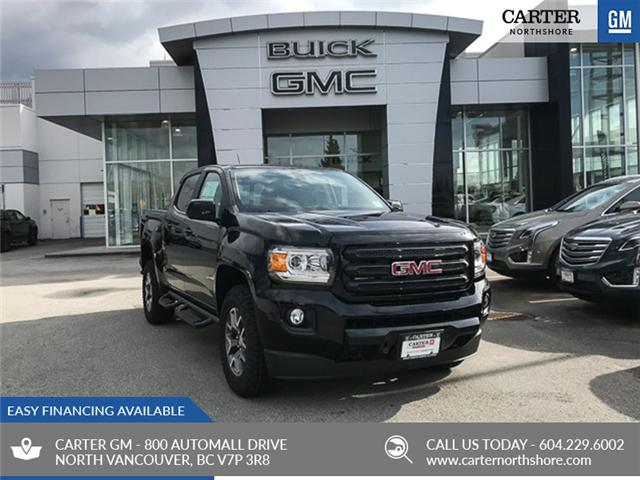 2019 GMC Canyon All Terrain w/Cloth (Stk: 9CN64540) in North Vancouver - Image 1 of 13