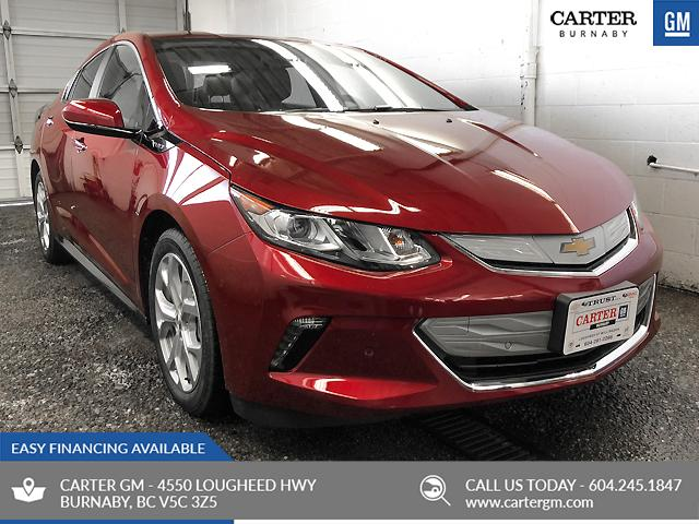 2018 Chevrolet Volt Premier (Stk: V8-02370) in Burnaby - Image 1 of 7