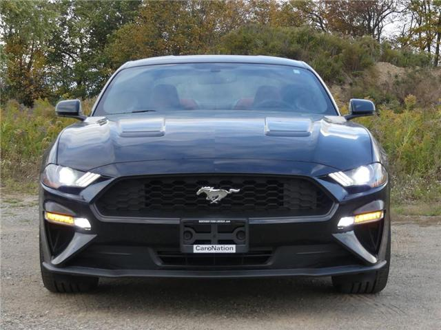 2019 Ford Mustang | PREMIUM | 2.3L I-4 | RED LEATHER | (Stk: MU90849) in Brantford - Image 2 of 19