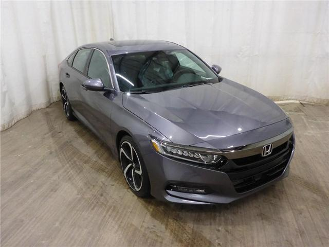2019 Honda Accord Sport 2.0T (Stk: 1944010) in Calgary - Image 1 of 28