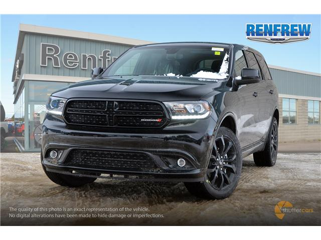 2019 Dodge Durango SXT (Stk: K123) in Renfrew - Image 1 of 20