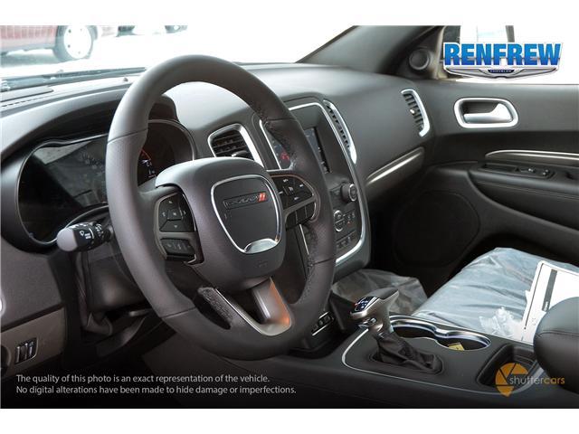 2019 Dodge Durango SXT (Stk: K123) in Renfrew - Image 8 of 20