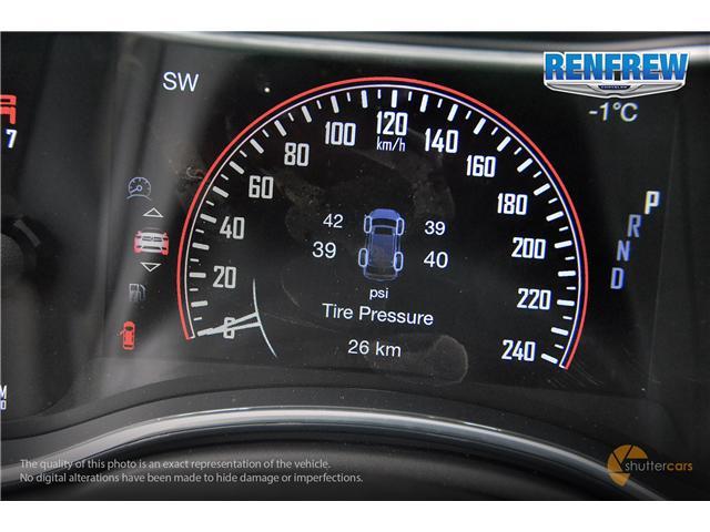 2019 Dodge Durango SXT (Stk: K123) in Renfrew - Image 11 of 20