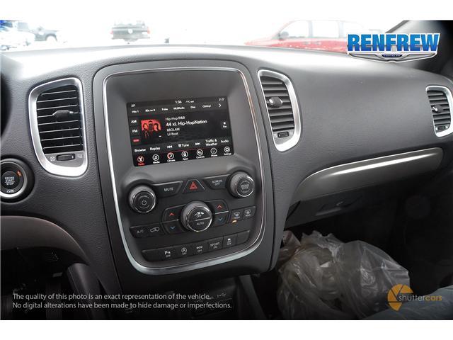 2019 Dodge Durango SXT (Stk: K123) in Renfrew - Image 12 of 20