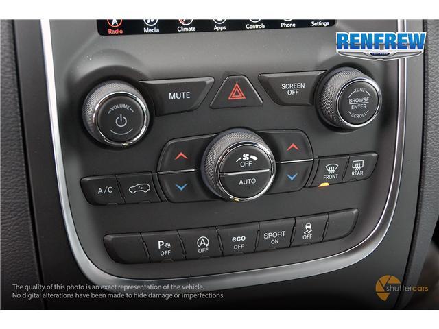 2019 Dodge Durango SXT (Stk: K123) in Renfrew - Image 15 of 20