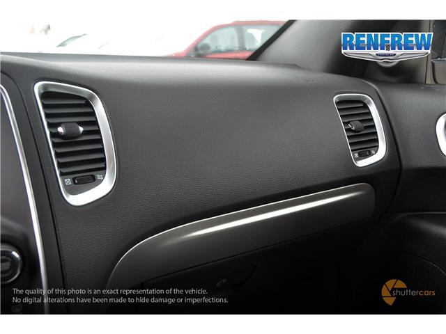 2019 Dodge Durango SXT (Stk: K123) in Renfrew - Image 18 of 20