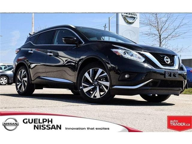 2018 Nissan Murano Platinum (Stk: N19843) in Guelph - Image 1 of 23