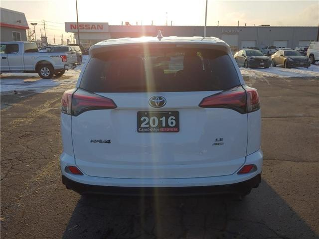 2016 Toyota RAV4  (Stk: P0054740) in Cambridge - Image 7 of 13