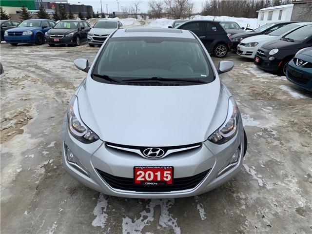 2015 Hyundai Elantra GLS (Stk: 301574) in Orleans - Image 6 of 26