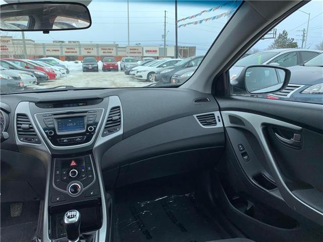 2015 Hyundai Elantra GLS (Stk: 301574) in Orleans - Image 11 of 26
