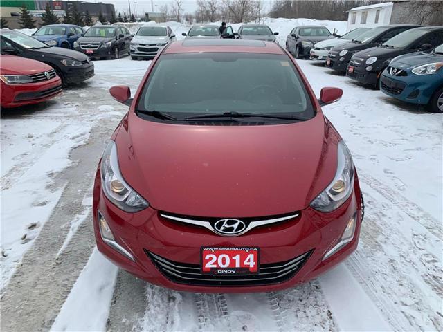 2014 Hyundai Elantra Limited (Stk: 159318) in Orleans - Image 6 of 29