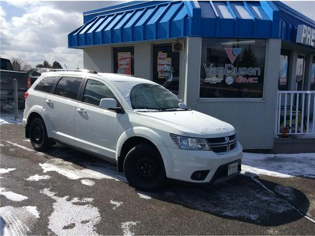 2012 Dodge Journey SXT & Crew (Stk: B7256A) in Ajax - Image 1 of 22